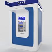 Банк Банкомат 3d model