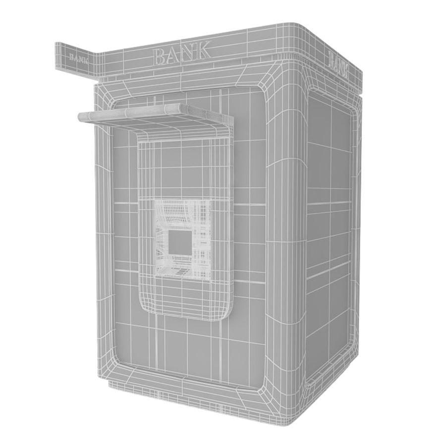 Caixa eletrônico royalty-free 3d model - Preview no. 6