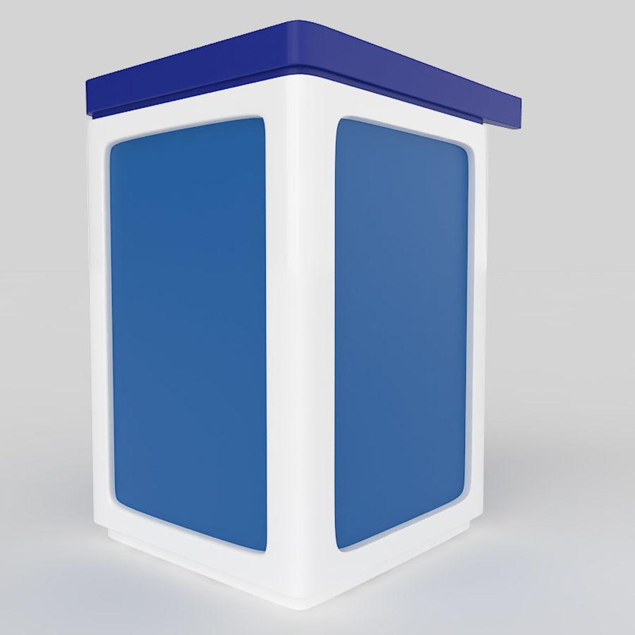 Caixa eletrônico royalty-free 3d model - Preview no. 5