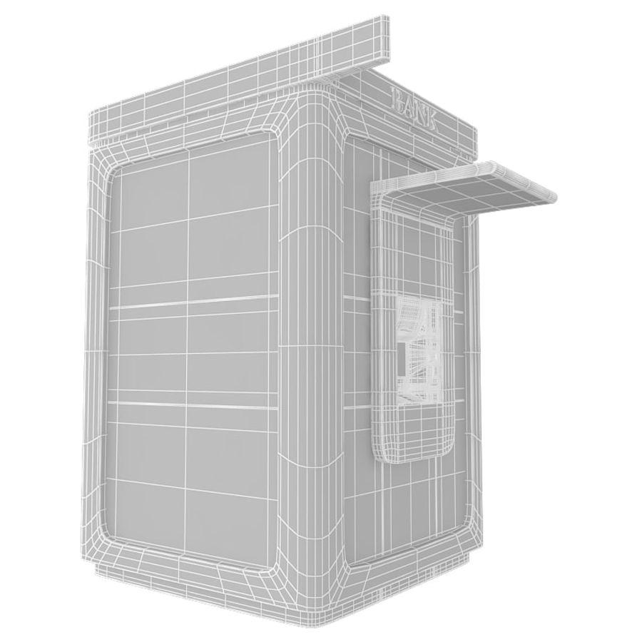 Caixa eletrônico royalty-free 3d model - Preview no. 7