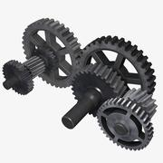 Rodas dentadas 3d model