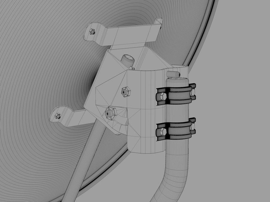 Antena satelitarna royalty-free 3d model - Preview no. 6