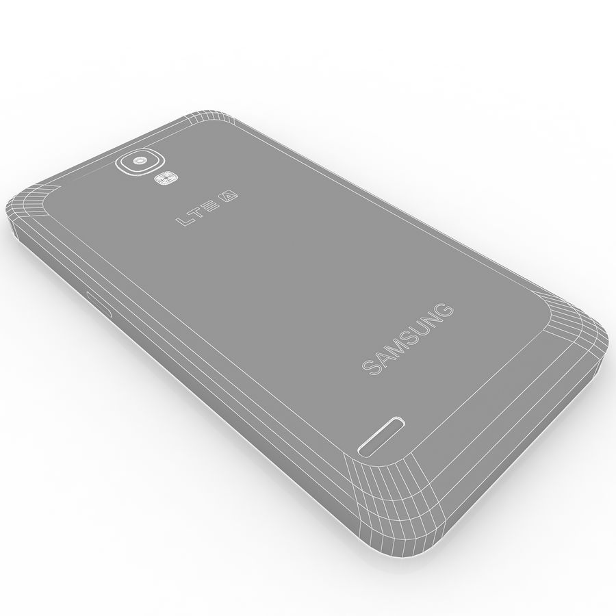 Samsung Galaxy Round royalty-free 3d model - Preview no. 9