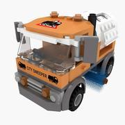 Lego sweeper 3d model