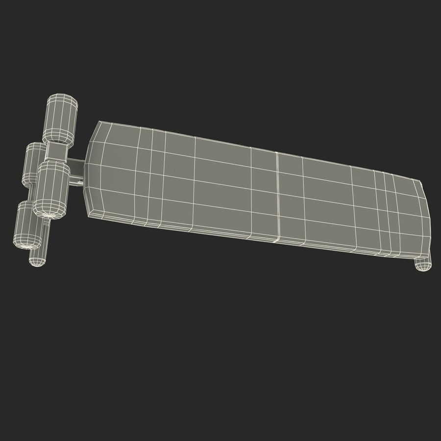 Apex Sit Up Board royalty-free modelo 3d - Preview no. 16