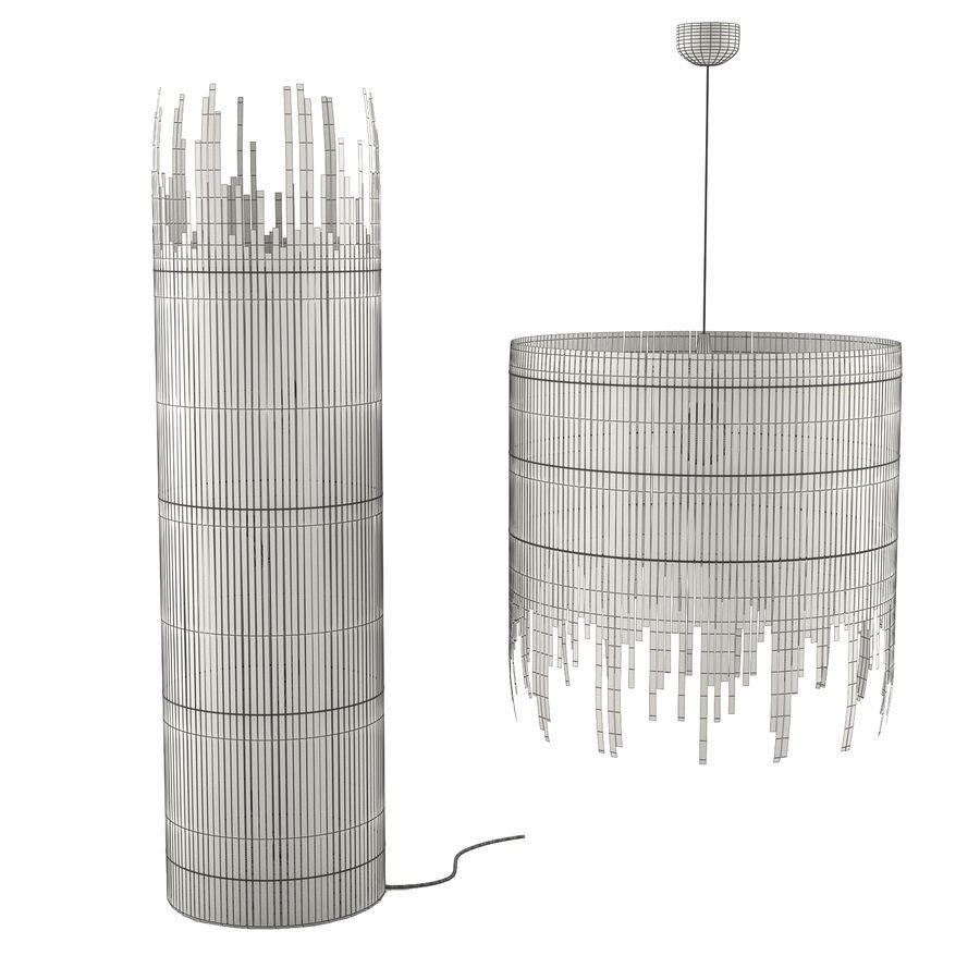 IKEA Rotvik royalty-free 3d model - Preview no. 3