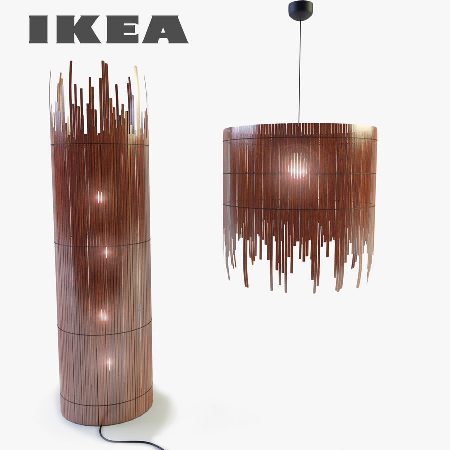 IKEA Rotvik royalty-free 3d model - Preview no. 1