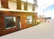 modellpaket för staden 3d model