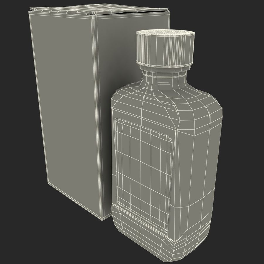 Cough Medicine royalty-free 3d model - Preview no. 15