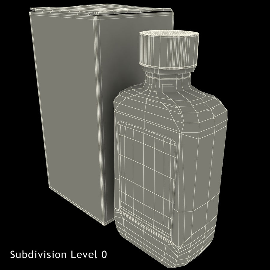 Cough Medicine royalty-free 3d model - Preview no. 22