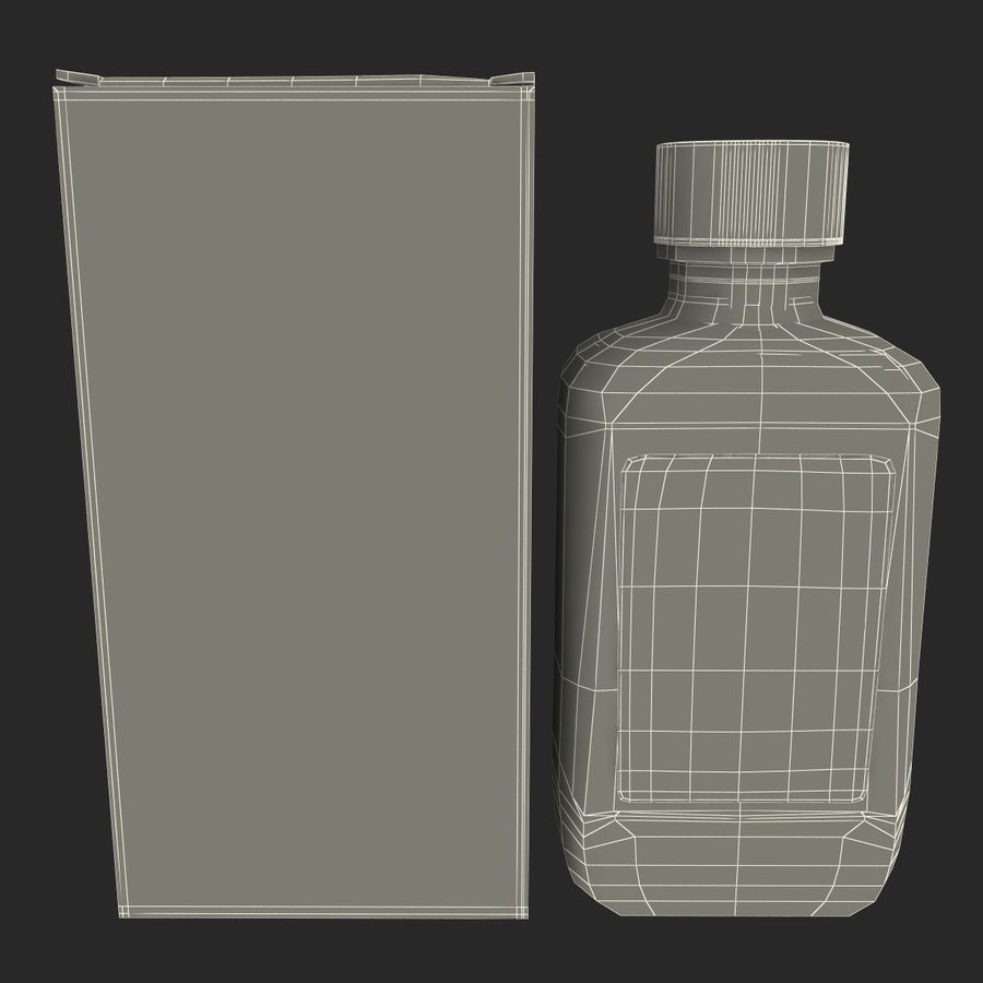Cough Medicine royalty-free 3d model - Preview no. 20