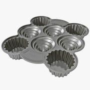 Tôle à muffins 3d model