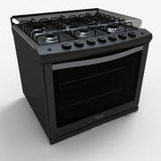Whirlpool Stove WE5850D 3d model