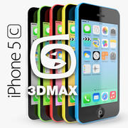 Apple iPhone 5C 3DMAX 3d model