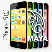 Apple iPhone 5Cマヤ 3d model