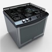 Whirlpool Stove WE9550S 3d model