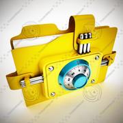 Folder 3d model