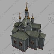 Hram_Derevo01 3d model