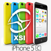 苹果iPhone 5C SoftimageXSI 3d model