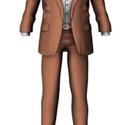 Kostym 3d model
