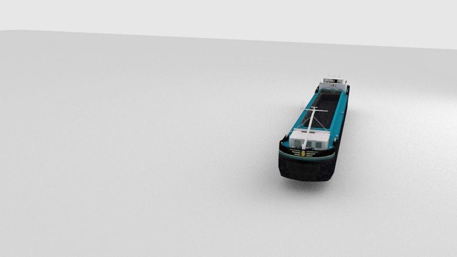 Cargo Ship royalty-free 3d model - Preview no. 8