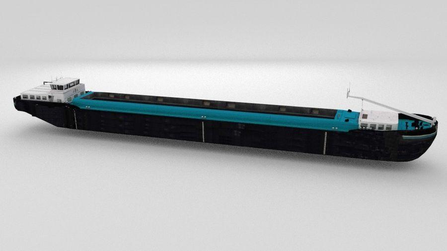 Cargo Ship royalty-free 3d model - Preview no. 10