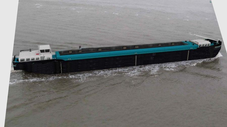 Cargo Ship royalty-free 3d model - Preview no. 12