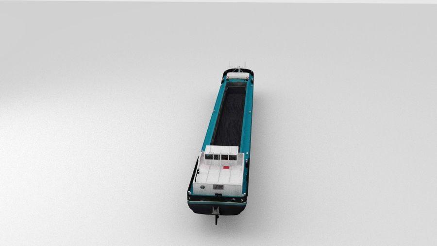 Cargo Ship royalty-free 3d model - Preview no. 4