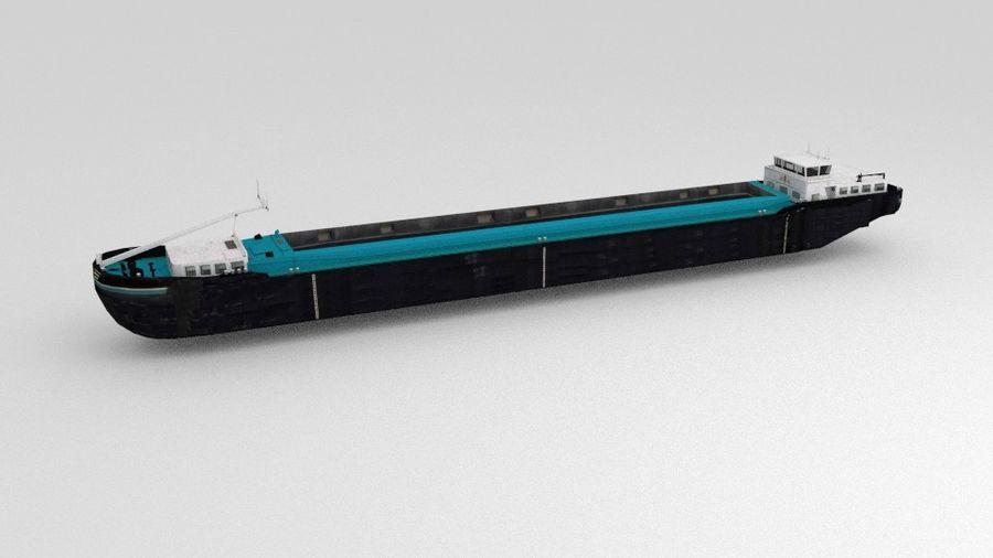 Cargo Ship royalty-free 3d model - Preview no. 7