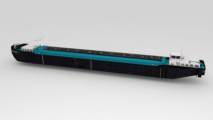 Cargo Ship royalty-free 3d model - Preview no. 6