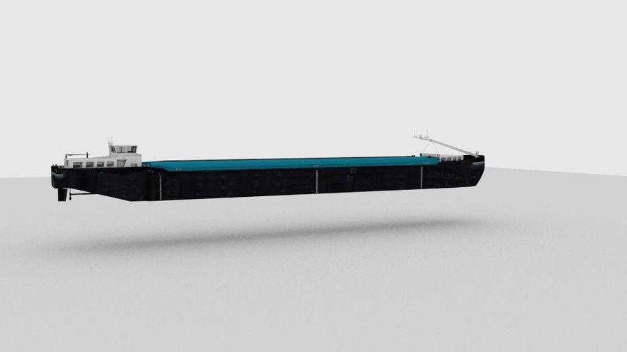 Cargo Ship royalty-free 3d model - Preview no. 11