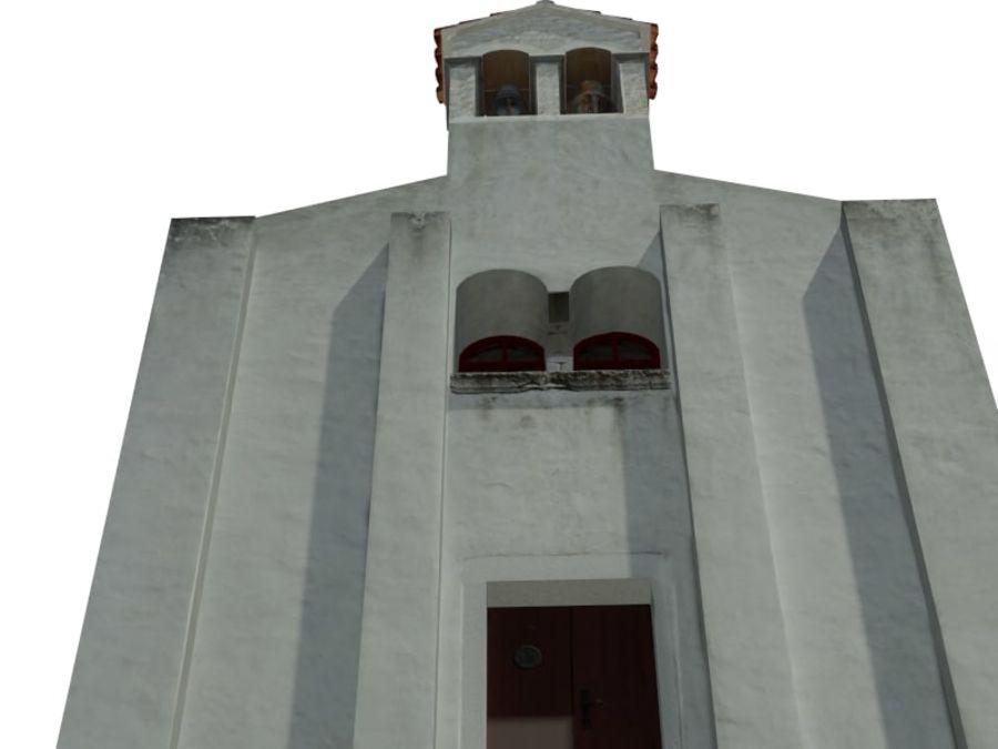 Kościół VI wieku royalty-free 3d model - Preview no. 3