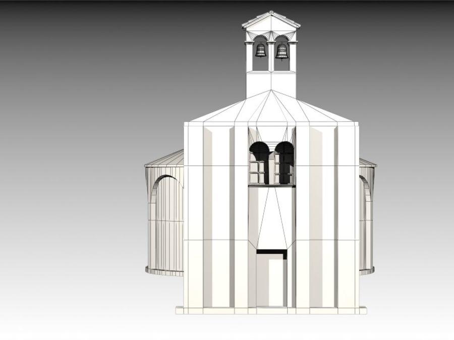 Kościół VI wieku royalty-free 3d model - Preview no. 11