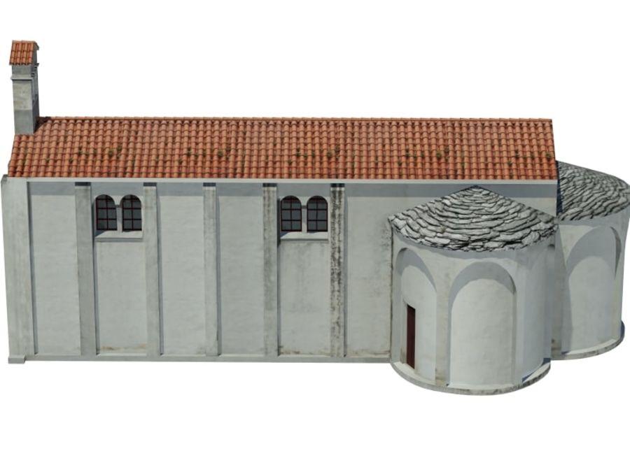 Kościół VI wieku royalty-free 3d model - Preview no. 6