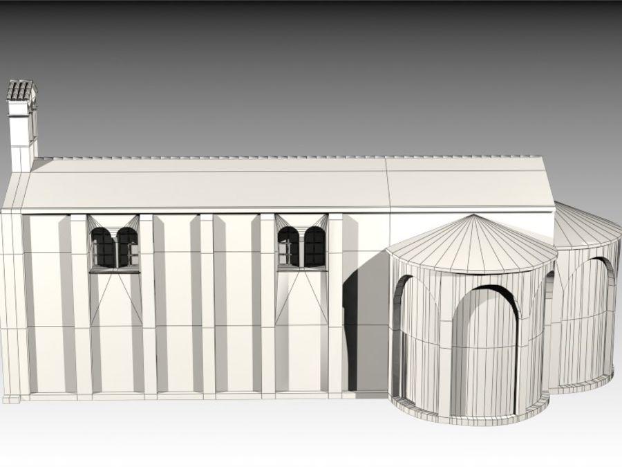 Kościół VI wieku royalty-free 3d model - Preview no. 13