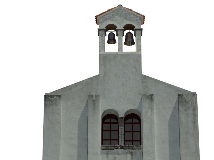 Kościół VI wieku royalty-free 3d model - Preview no. 4