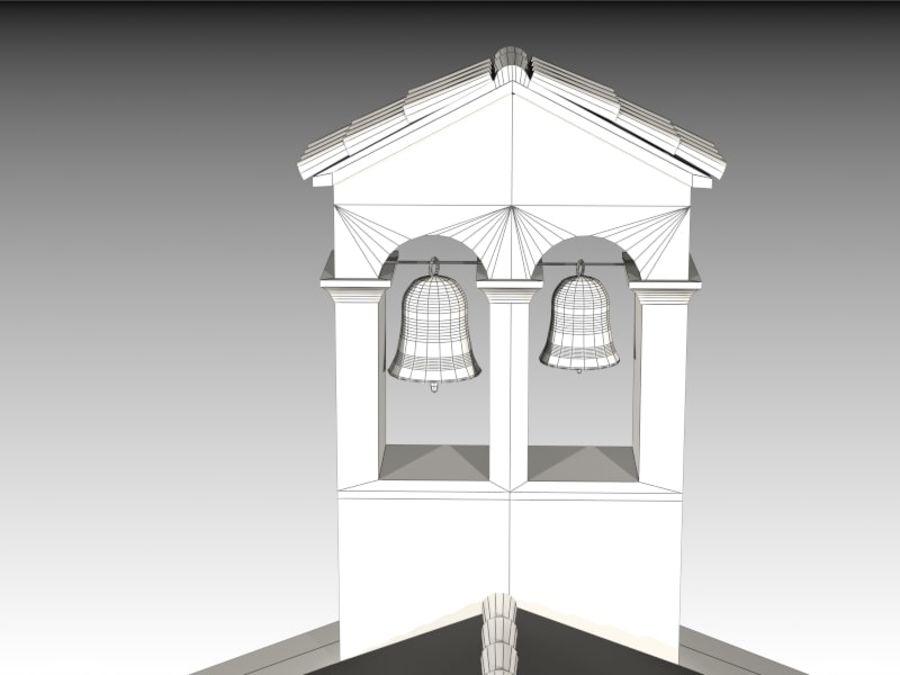 Kościół VI wieku royalty-free 3d model - Preview no. 14