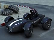 Formula old style (buggy) 3d model
