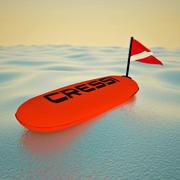 Подводное плавание 3d model