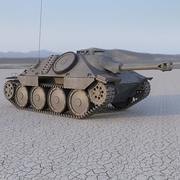 Hetzer modelo 3d
