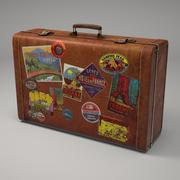 旅行箱 3d model