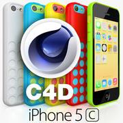 Apple iPhone 5C CINEMA 4D 3d model