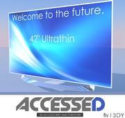 Modernes Fernsehen UltraThin 3d model