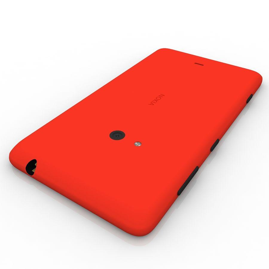 Nokia Lumia 625 Red 3D Model $29 -  unknown  max  obj  dxf