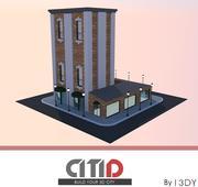 Suburb Building and Bar   CITID 3d model
