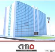 现代政府大楼  CITID 3d model