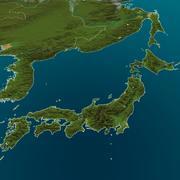 Carte du monde personnalisable 3d model