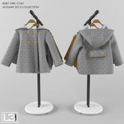 Płaszcz Baby Girl 01 3d model