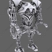 机器人01 3d model