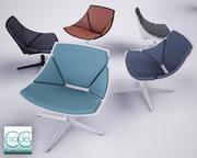 Espace salon 3d model